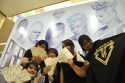 BIGBANG ticket launch fans holding tickets